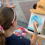 """Nastavljamo i ove srijede: Dječija art radionica """"Trgom nasmijanih lica"""""""