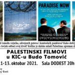 Palestinske filmske večeri u KIC-u